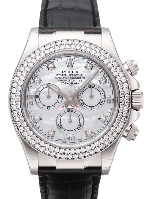 Rolex Cosmograph Daytona MoP Diamonds