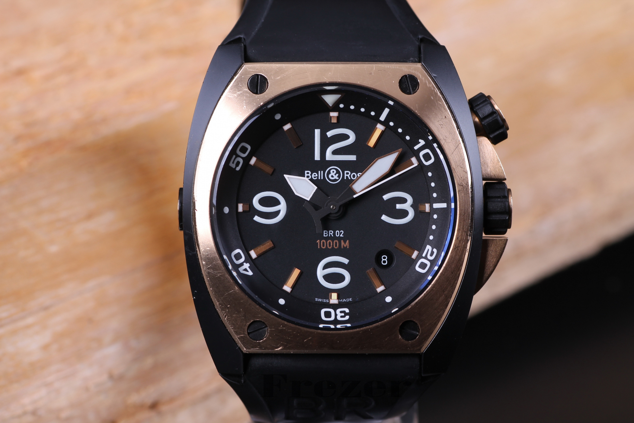Bell & Ross Marine BR02-20-S/R-548 Steel & Rose Gold